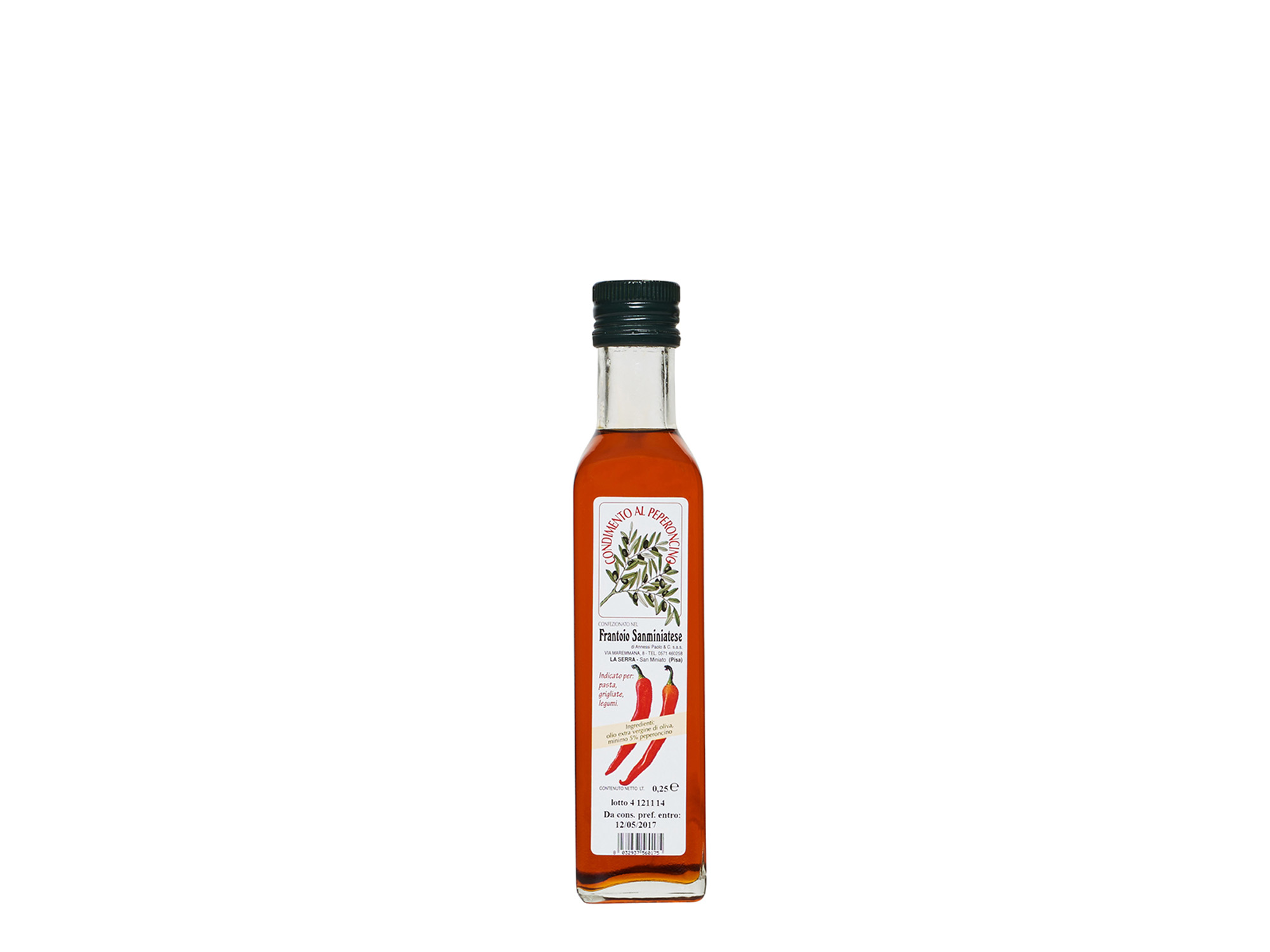 Olio al Chili 250ml & 100ml