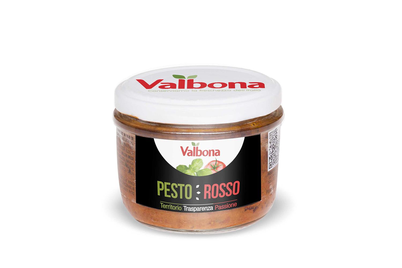 Pesto Rosso – tomat&basilika 148g