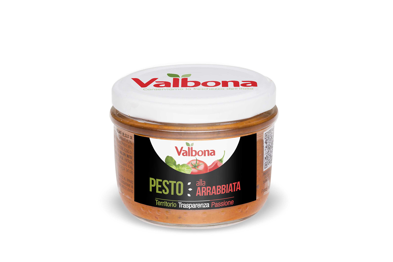 Pesto all'Arrabbiata – tomat & chili 148g